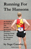 "book cover of ""Running For The Hansons"""