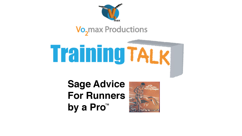 "my new YouTube video series on ""Vo2max Productions"""