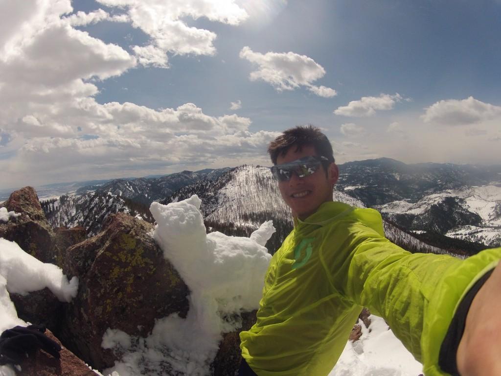 Top of Bear Peak