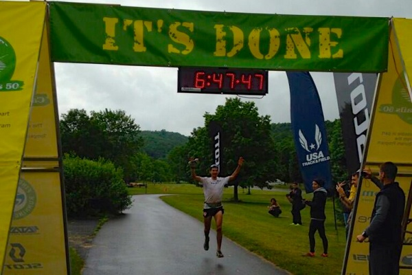 glad to make it the full distance! photo credit: iRunFar.com