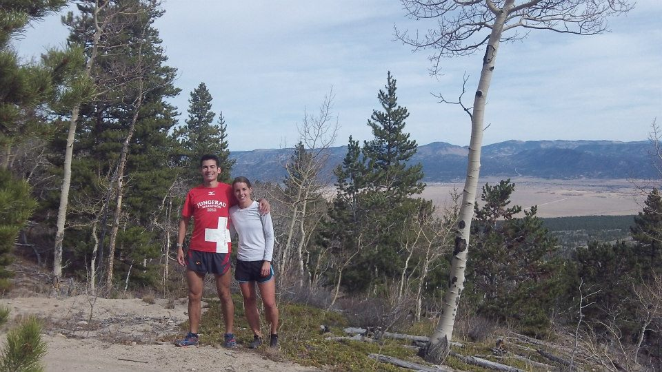 First run Sandi and I went on together  (just above Buena Vista, Colorado).