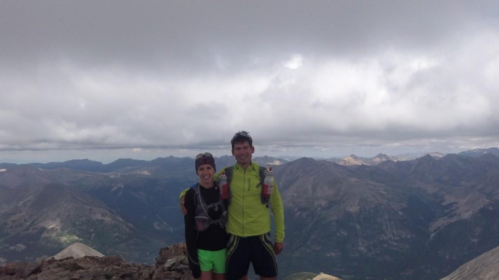 Summit of La Plata Peak (14,336')