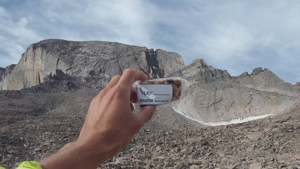 UGo Bars made it up Longs Peak earlier this summer!