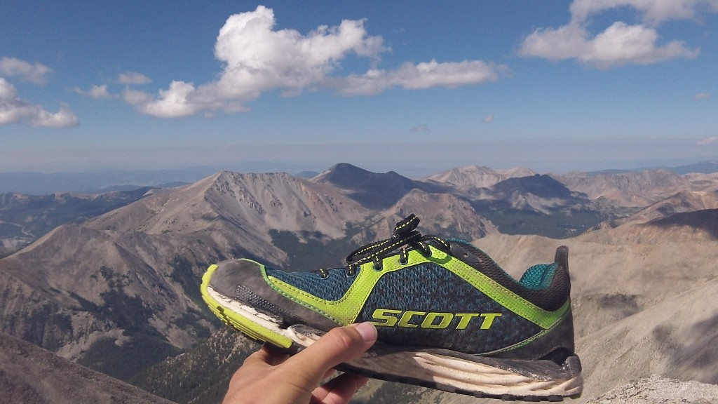 The SCOTT Kinabalu conquers two 14ers in one day...the day after setting the Maroon Bells Four Pass Loop FKT!