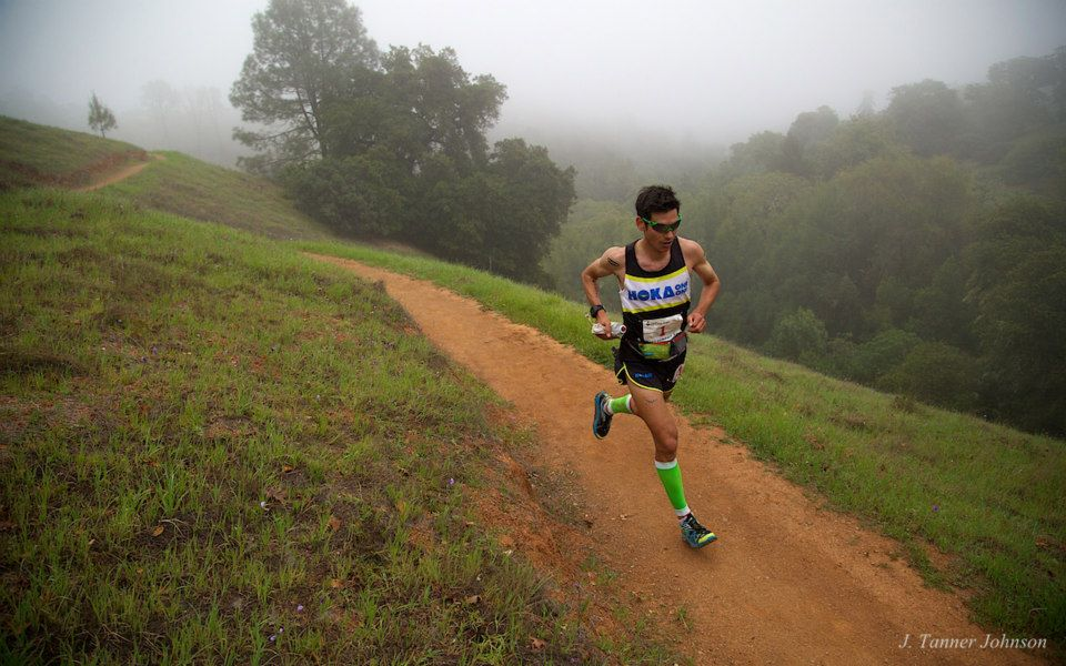 The the first half of the race it was cloudy and cool...ideal to run fast! Photo Credit to Tanner Johnson