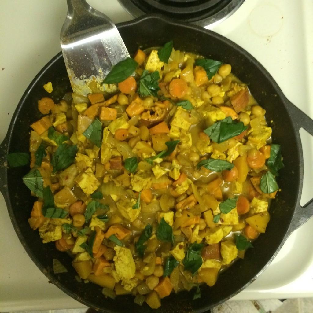 Tofu Curry!