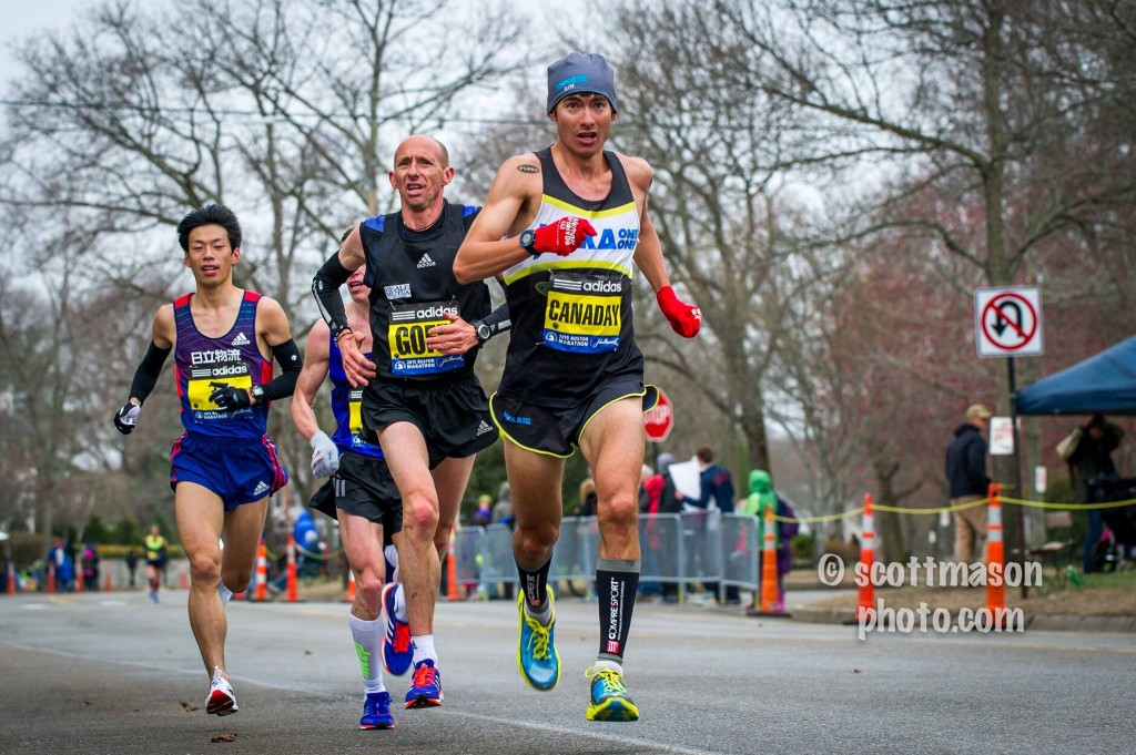2015 Boston Marathon. I gutted my way to 16th place...one place out of the prize money. Photo Credit: Scott Mason www.ScottMasonPhoto.com